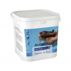 ASTRAL TABLETA ACTION 10 EN BOTE DE 5 KILOS