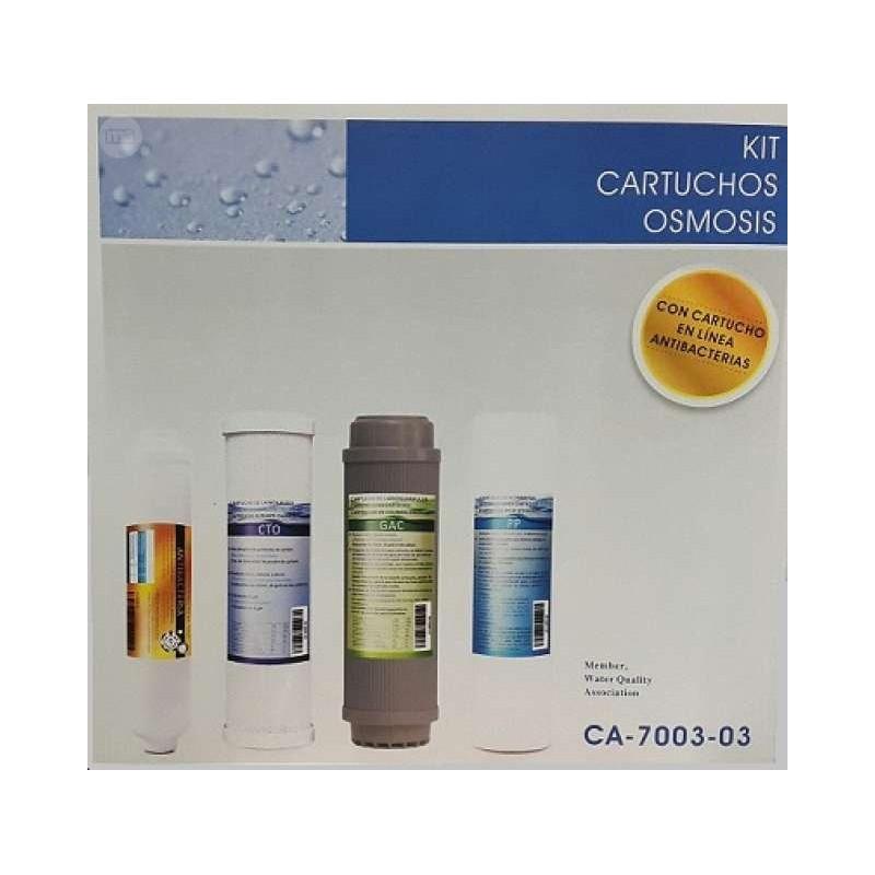 Kit Recambios filtros Osmosis Nereo Universales