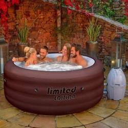 Spa hinchable con luces LED Bestway Paris Lay-Z-Spa