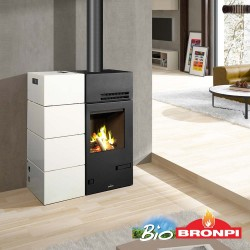 Estufa Pellet KIRA 8 kW Bronpi